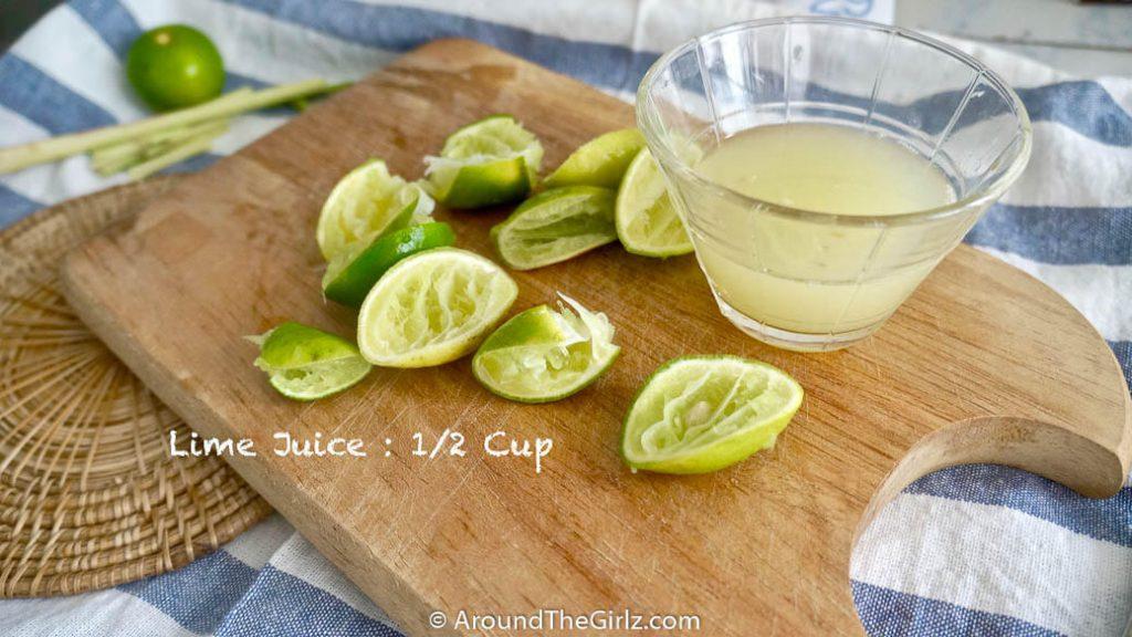 ต้อนรับลมเย็นกับ Honey-Lime-Lemongrass Popsicle