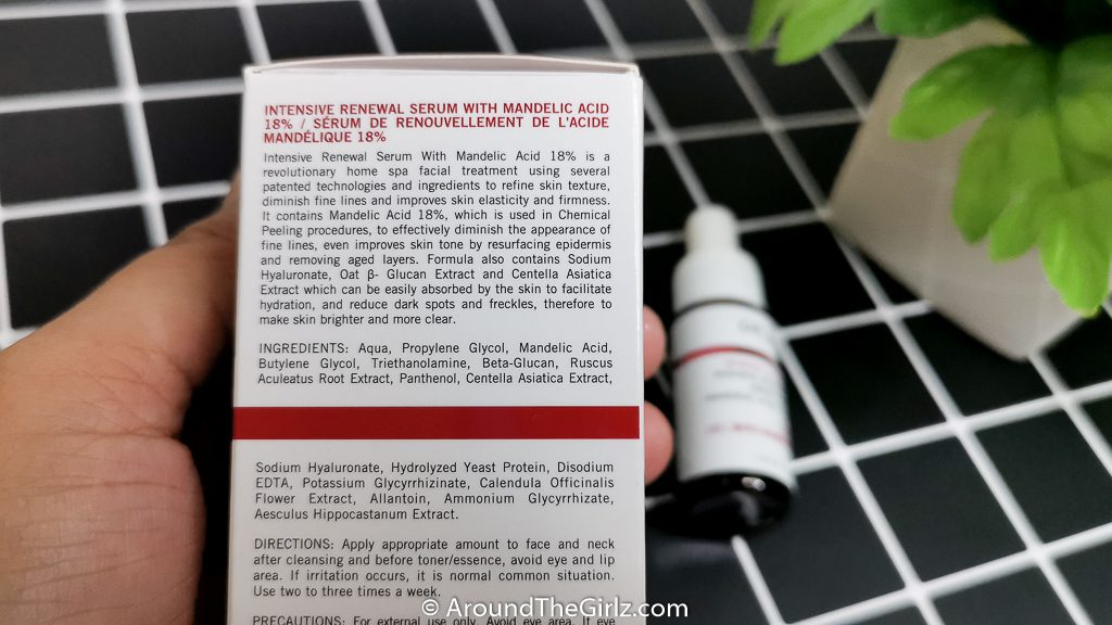 DR.WU INTENSIVE RENEWEL SERUM